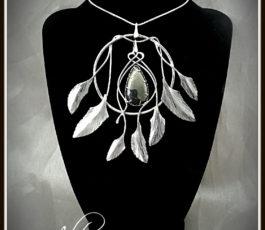 """Collier pendentif inox """"Les Diaboliques: Calamity Jane"""" Larme d'Apache"""